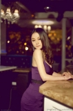 Lonely Young Woman At The Bar (3)