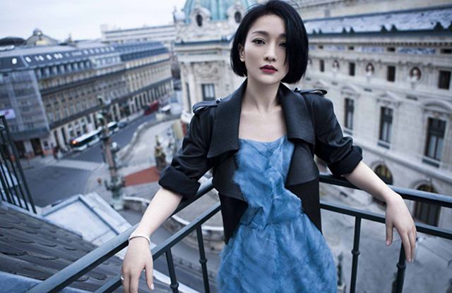 Chinese Celebrity Income List Zhou Xun