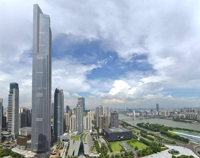 Top 10 Tallest Buildings in china Guangzhou Chow Tai Fook Financial Center
