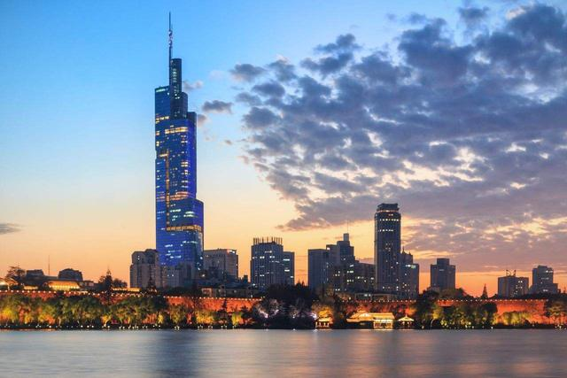 Top 10 Tallest Buildings in china Nanjing Zifeng Building