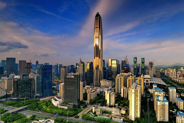 Top 10 Tallest Buildings in china Shenzhen Ping An Financial Center