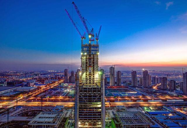 Top 10 Tallest Buildings in china Tianjin 117 Building