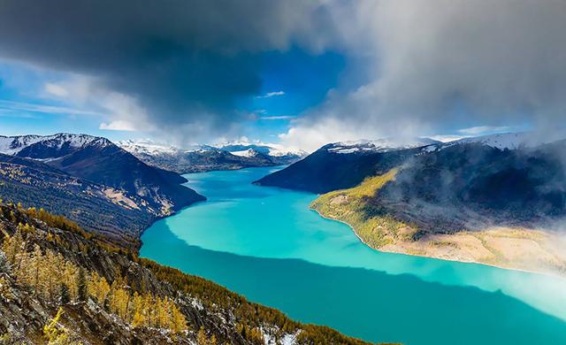5 Most Beautiful Lakes In China-Kanas Lake