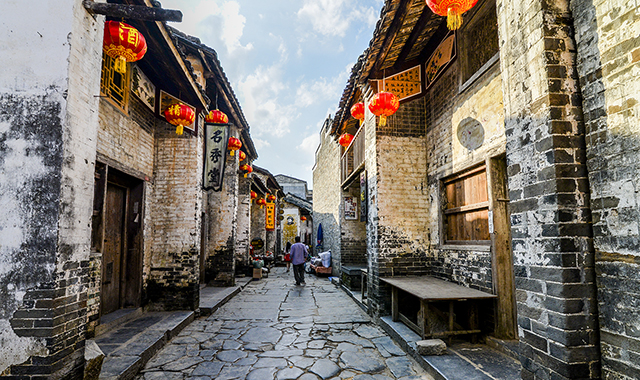 Most beautiful Ancient Towns-Huangyao Ancient Town