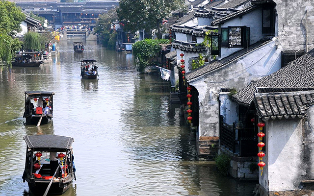Most beautiful Ancient Towns-Wuzhen