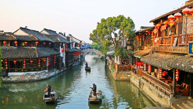 Most beautiful Ancient Towns-Xitang Ancient Town