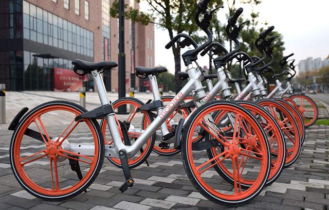 Bike Sharing Companies in China-mobike