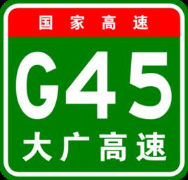 Highways in China Da-guang Hightway