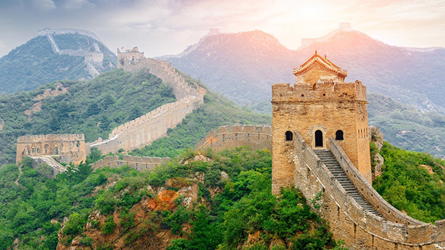China's Top 10 in The World-The longest city wall in the world—China Great Wall