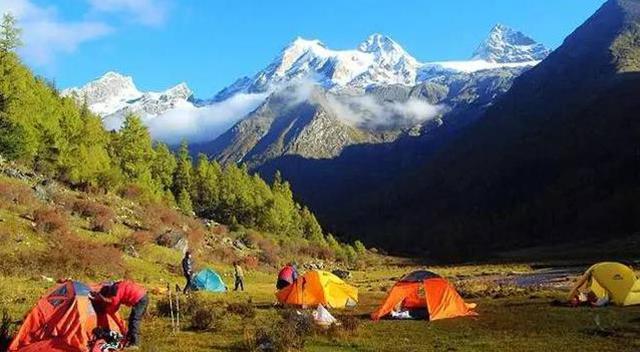 Outdoor Crossing Lines In China-Sichuan Siguniang Mountain Changpinggou to Bi Penggou Crossing