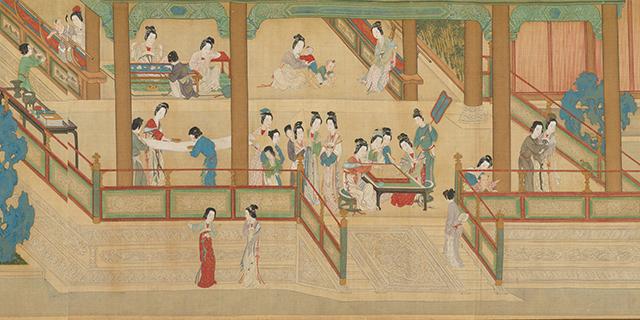 Top 10 Famous Chinese Paintings in Ancient China-Han Gong Chun Xiao Tu