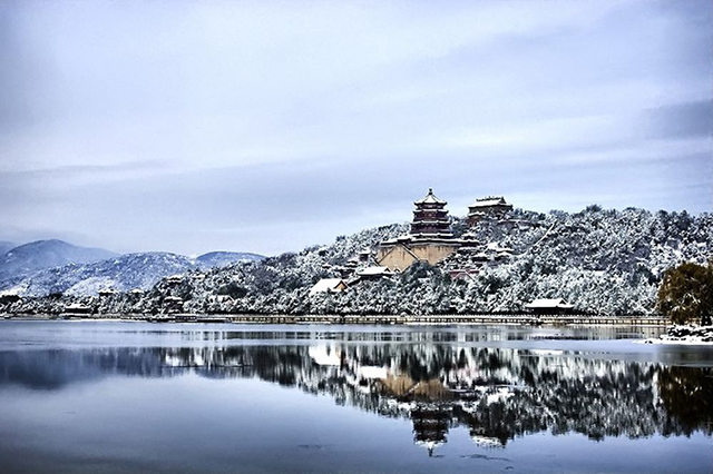 Top 10 Human Landscapes in China-Summer Palace