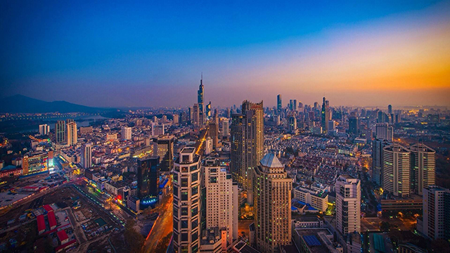 Top 10 Richest Cities in China-nanjing