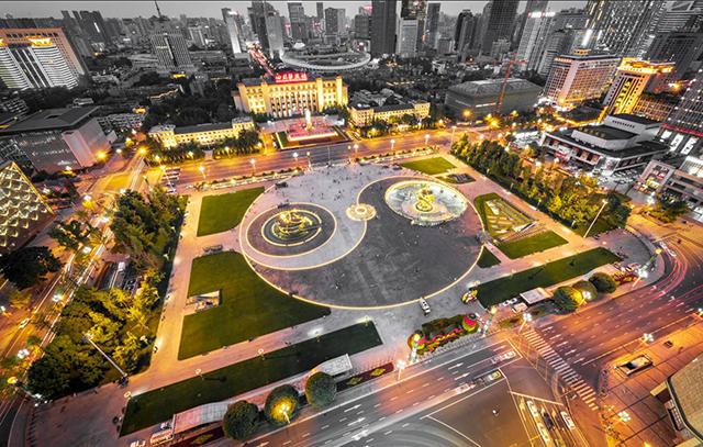 Top 10 City Squares in China-Chengdu Tianfu Square
