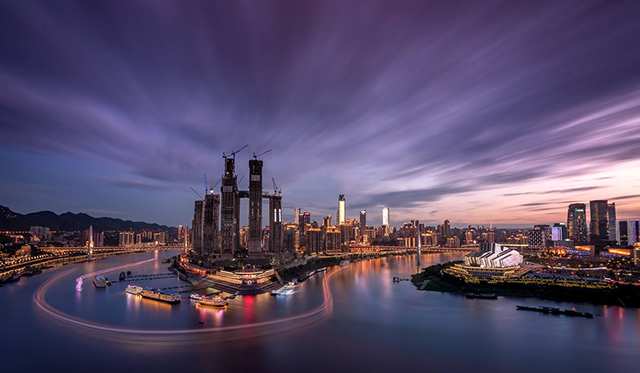 Top 10 City Squares in China-Chongqing Chaotianmen Square