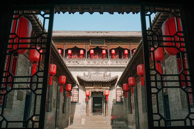 Top 10 Manor in China-Shanxi Qiao Family Courtyard