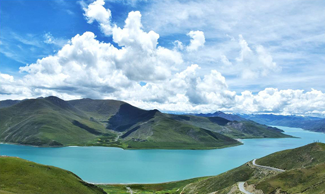 China's Top 10 in The World-The highest altitude river in the world – the Yarlung Zangbo River