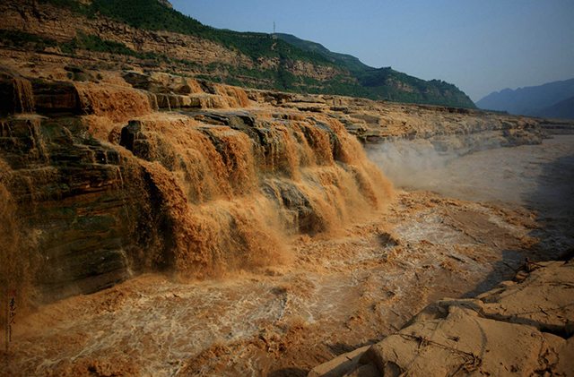 China's Top 10 in The World-The largest Sand content river in the world – the Yellow River