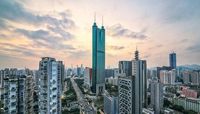Landmark Buildings in China's Top 10 Cities-Shenzhen Diwang Building