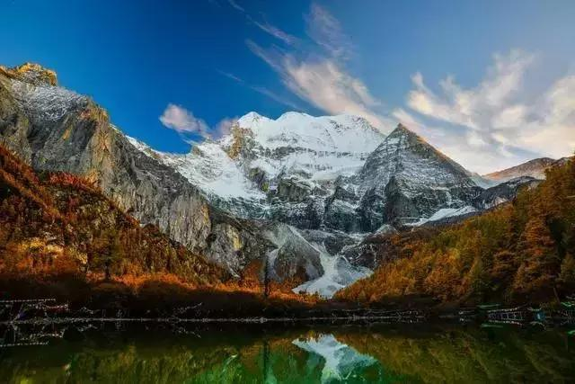 Top 10 Most Beautiful Snow Mountains in China-Three Great Mountains of Yading