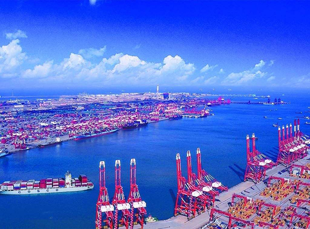 Top 10 Ports in China-Guangzhou Port