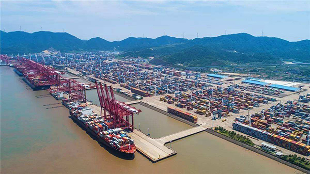 Top 10 Ports in China-Ningbo Zhoushan Port