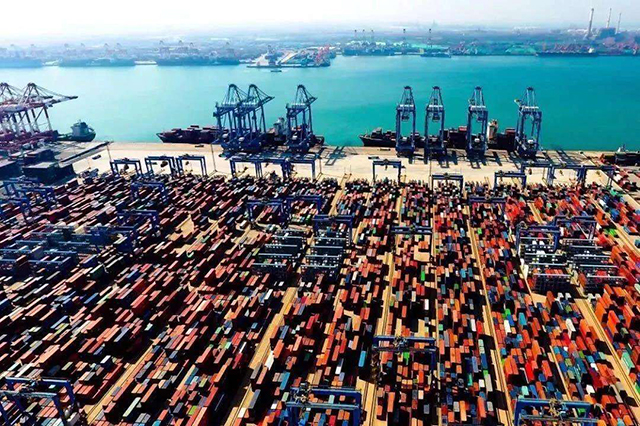 Top 10 Ports in China-Qingdao Port