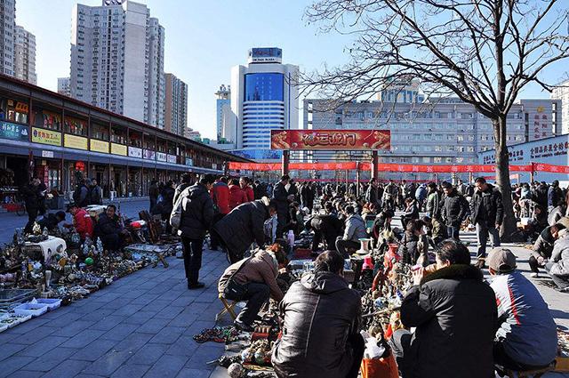 Top 10 Ancient Street in Beijing-Panjiayuan Flea Market