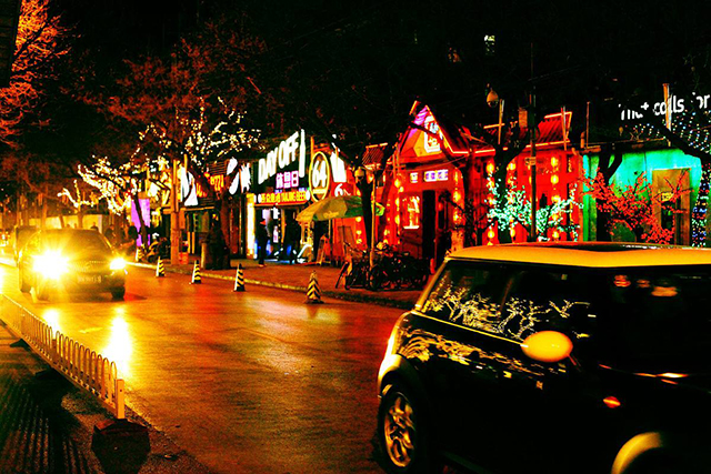 Top 10 Ancient Street in Beijing-Sanlitun Bar Street