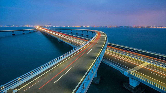 Top 10 Cross-sea Bridge in China-Qingdao Bay Bridge