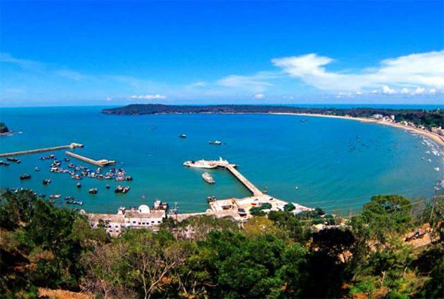 Top 10 Sea Sacred Places In China-Guangxi Beihai Yintan