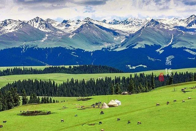 Top of China in Xinjiang