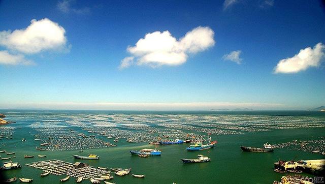 Four Major Fishing Grounds in China-Zhoushan Fishing Ground