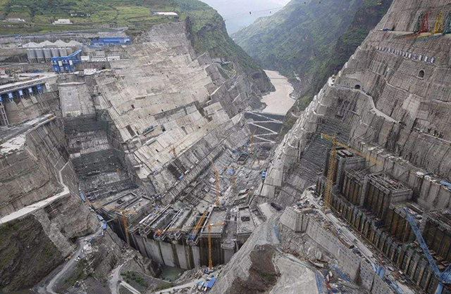 China's Top 10 Hydropower Stations-Baihetan Hydropower Station