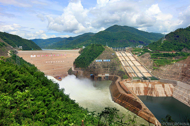 China's Top 10 Hydropower Stations-Nuozhadu Hydropower Station