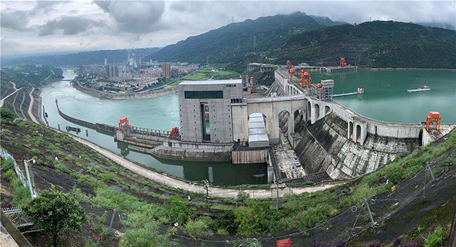 China's Top 10 Hydropower Stations-Xiangjiaba Hydropower Station