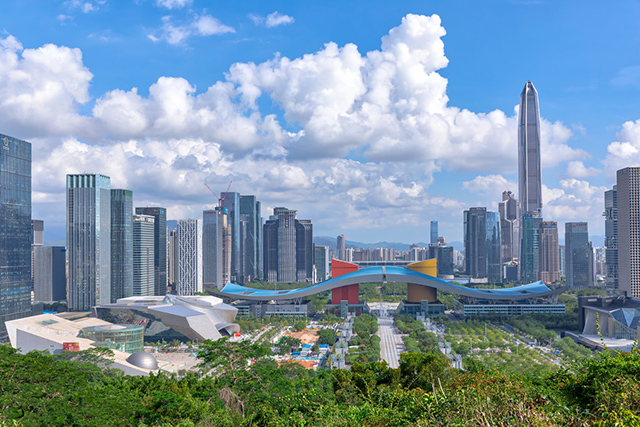 Top 10 Cities For Better Life in China-shenzhen