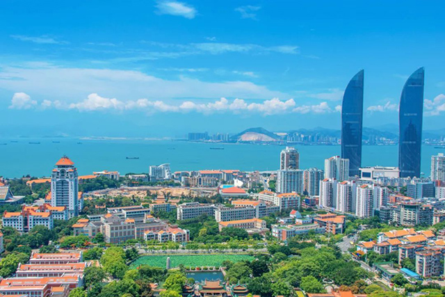 Top 10 Cities For Better Life in China-xiamen