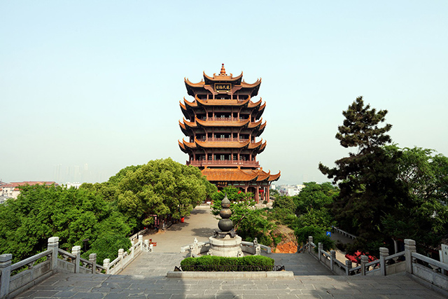 Top 12 Classic Ancient Buildings in China-Yellow Crane Tower Park