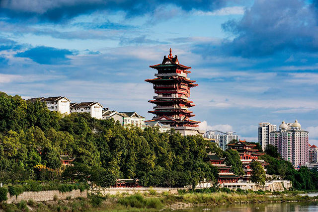 Top 12 Classic Ancient Buildings in China-Yuewang Tower