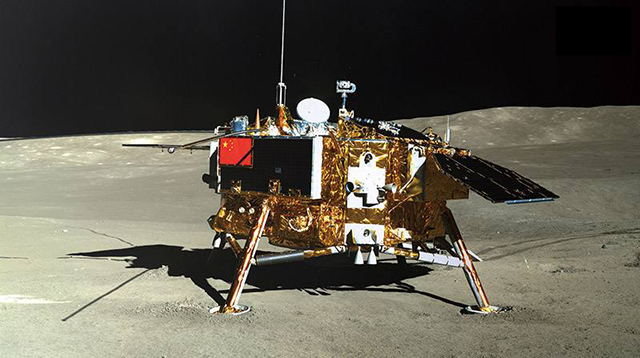 China Aerospace in 2018-Chang'e IV realizes the first visit