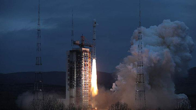 China Aerospace in 2018-The first marine business satellite launch