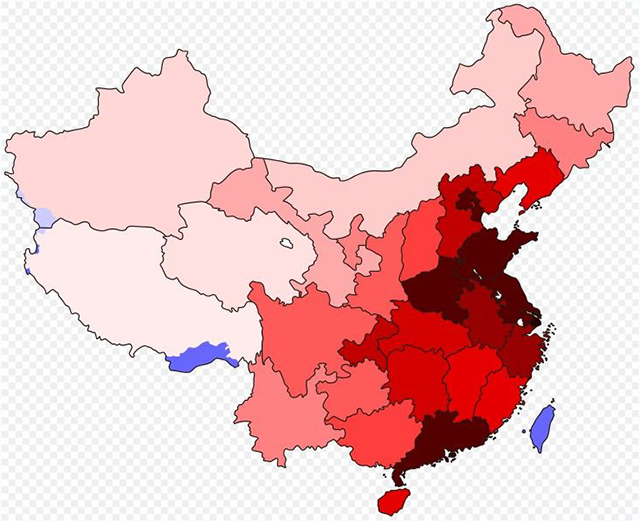 Provinces And Cities Population Rankings In China In 2018