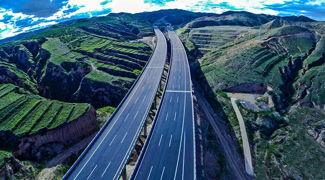 Super Projects In China Beijing-Urumqi Expressway