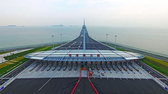 Super Projects In China Hong Kong-Zhuhai-Macao Bridge