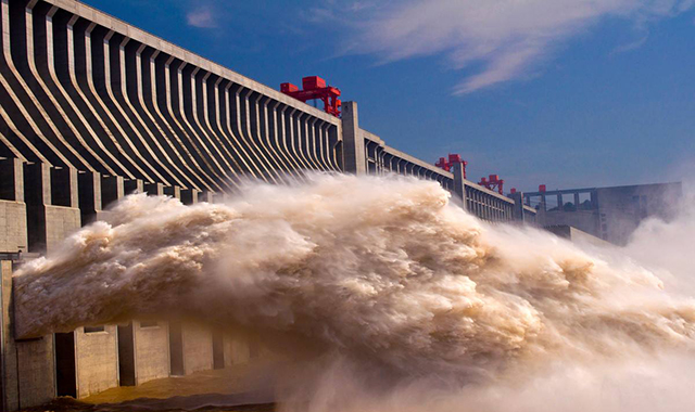 Super Projects In China Three Gorges Hydroelectric Power Station