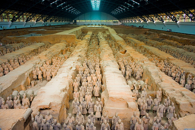 qin dynasty of china-Terracotta Warriors