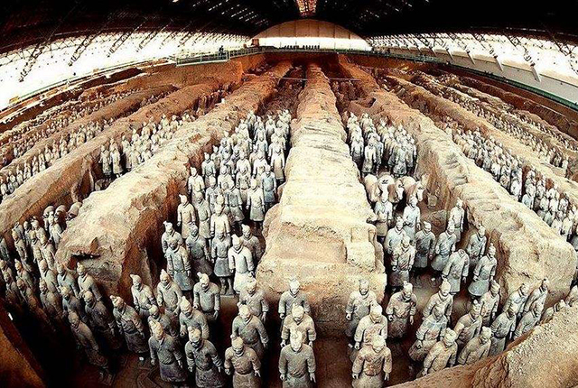 Most Beautiful Places To Visit In China-Terracotta Warriors
