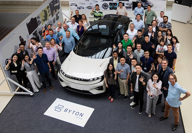 New Energy Vehicle Brand in china-byton