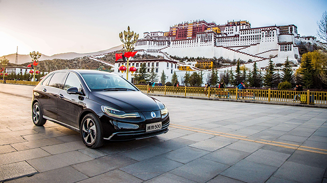 New Energy Vehicle Brand in china-denza
